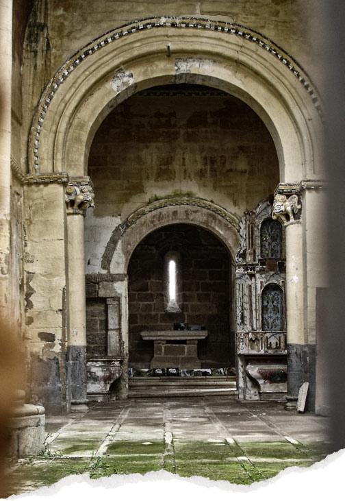 iglesia romanica de San Paio de Abeleda
