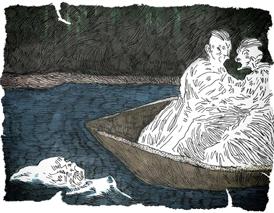 La mujer de la Laguna Negra, por Manuel Antón