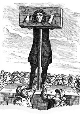picota, tortura medieval, rollo