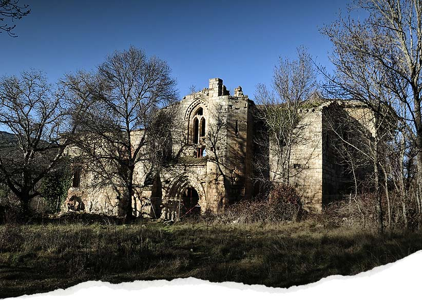 Monasterio en ruinas de Bonaval