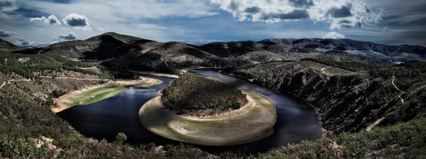 El meandro del Melero, frontera oriental de las Hurdes