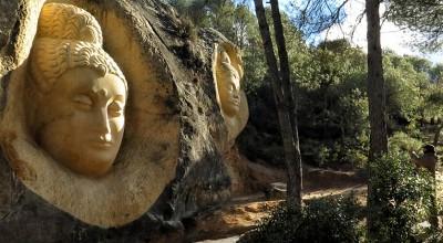 Ruta de las caras en el embalse de buendia, Cuenca