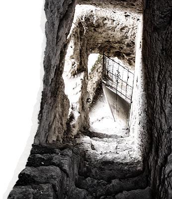Civica, escaleras interiores