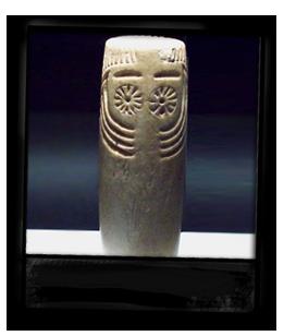 Ídolo oculado neolítico