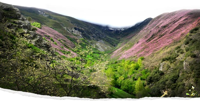 Valle del Silencio, en León, el Bierzo
