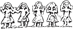 Relieve de Santa Eulalia de Bóveda - sacerdotes galli