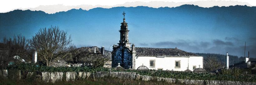 Iglesia templo soterrado Santa Eulalia de Boveda, Lugo