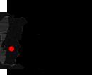 Mapa Évora